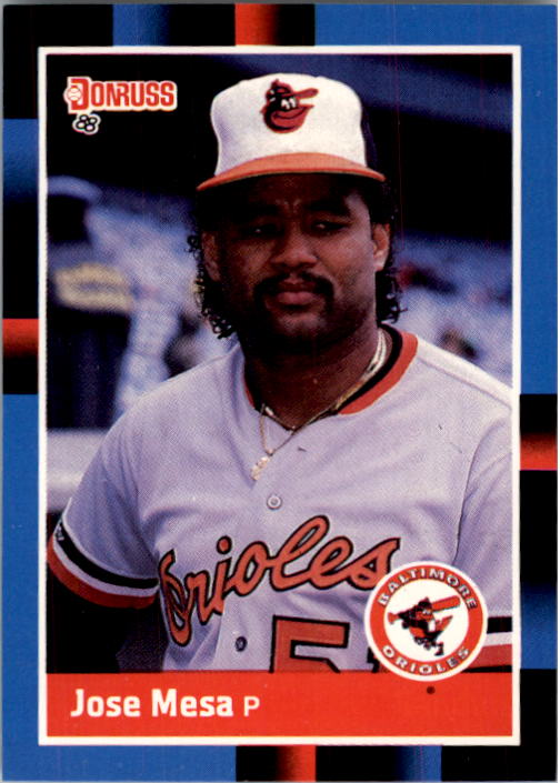1988 Donruss #601 Jose Mesa RC