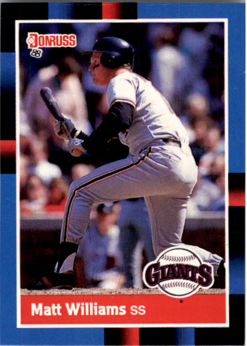 1988 Donruss #628 Matt Williams RC