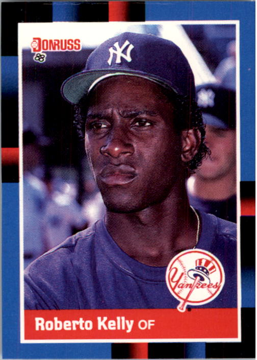 1988 Donruss #635 Roberto Kelly SP RC