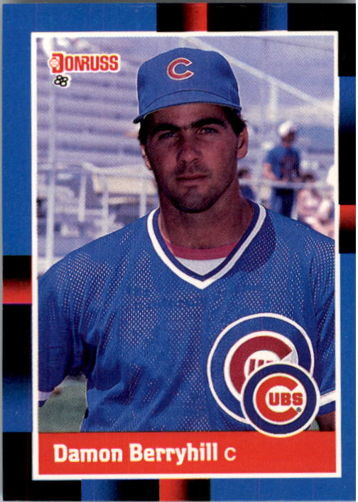 1988 Donruss #639 Damon Berryhill RC