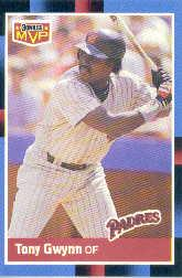 1988 Donruss Bonus MVP's #BC6 Tony Gwynn