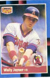 1988 Donruss Bonus MVP's #BC13 Wally Joyner