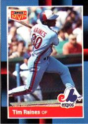 1988 Donruss Bonus MVP's #BC18 Tim Raines SP