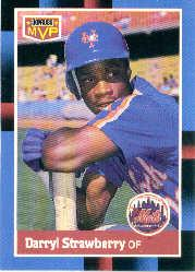 1988 Donruss Bonus MVP's #BC20 Darryl Strawberry SP
