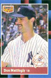 1988 Donruss Bonus MVP's #BC21 Don Mattingly SP