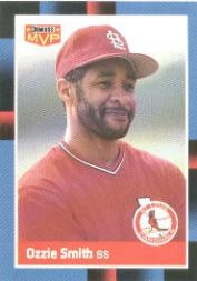 1988 Donruss Bonus MVP's #BC22 Ozzie Smith SP