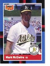 1988 Donruss Bonus MVP's #BC23 Mark McGwire SP