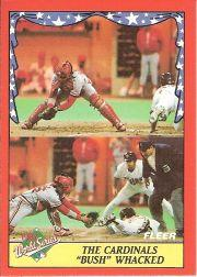 1988 Fleer World Series #2 Randy Bush