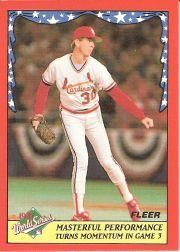 1988 Fleer World Series #3 John Tudor