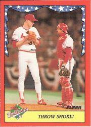 1988 Fleer World Series #5 T.Worrell/T.Pena