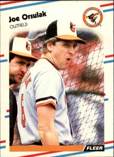 1988 Fleer Update #2 Joe Orsulak