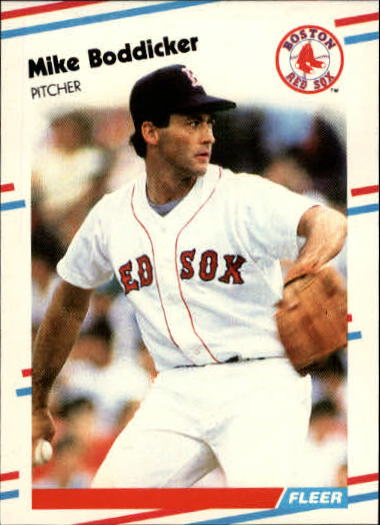 1988 Fleer Update #5 Mike Boddicker