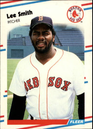 1988 Fleer Update #8 Lee Smith