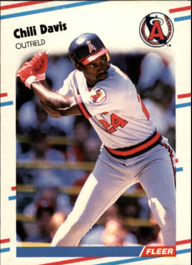 1988 Fleer Update #12 Chili Davis