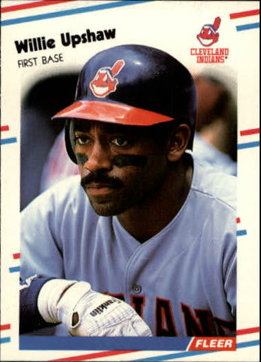 1988 Fleer Update #25 Willie Upshaw