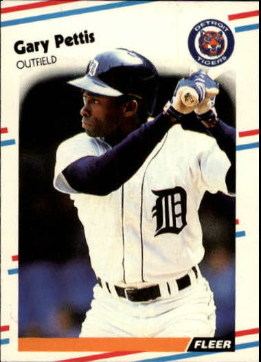 1988 Fleer Update #29 Gary Pettis