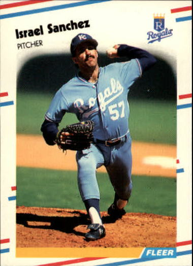 1988 Fleer Update #34 Israel Sanchez