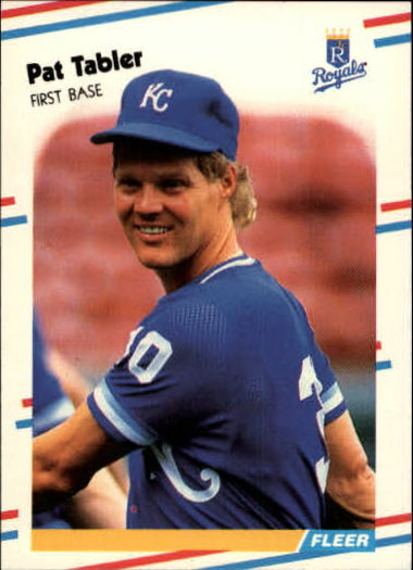 1988 Fleer Update #36 Pat Tabler