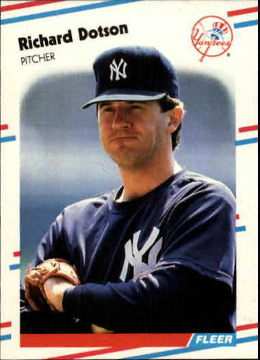 1988 Fleer Update #48 Richard Dotson