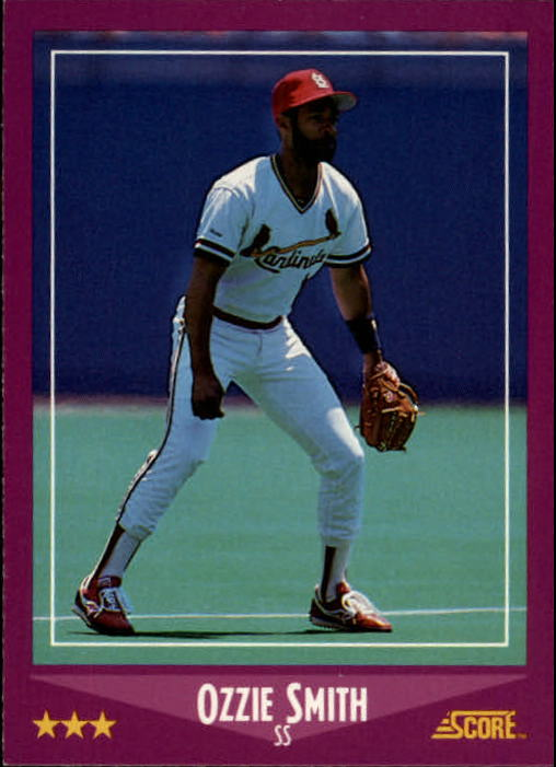 1988 Score #12 Ozzie Smith