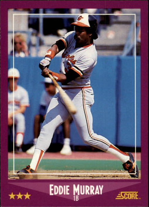 1988 Score #18 Eddie Murray