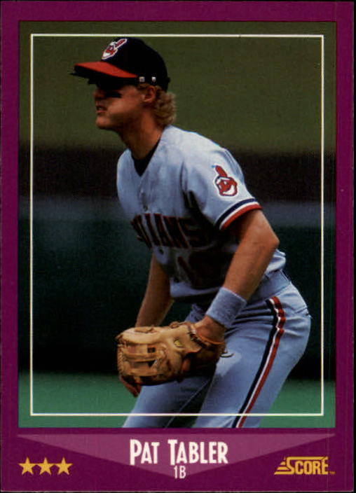 1988 Score #23 Pat Tabler