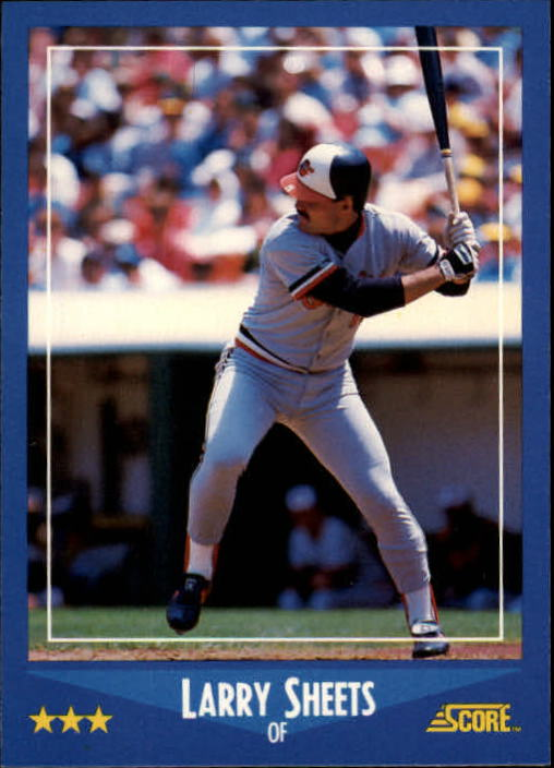 1988 Score #219 Larry Sheets
