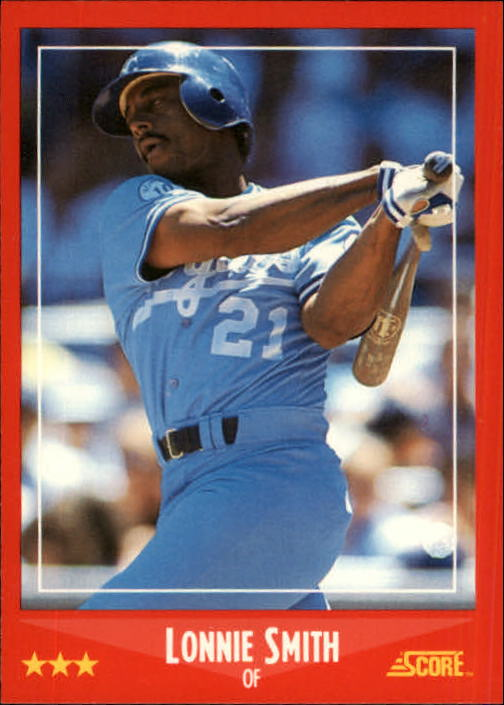 1988 Score #263 Lonnie Smith
