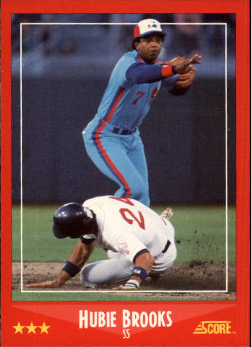 1988 Score #305 Hubie Brooks