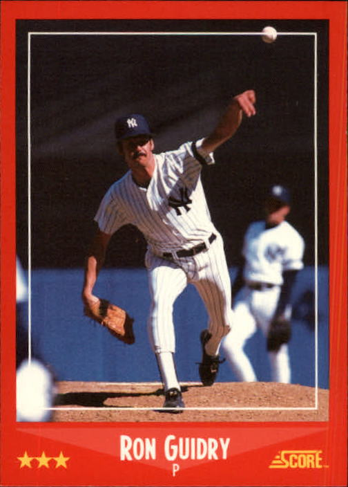 1988 Score #310 Ron Guidry