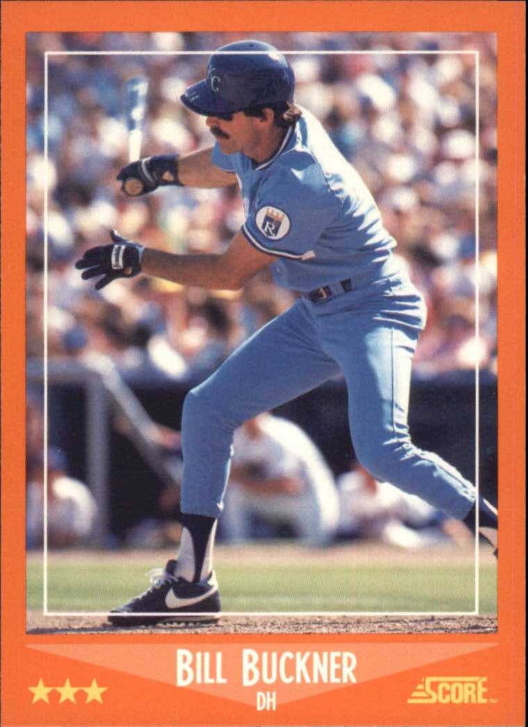 1988 Score Rookie/Traded #36T Bill Buckner