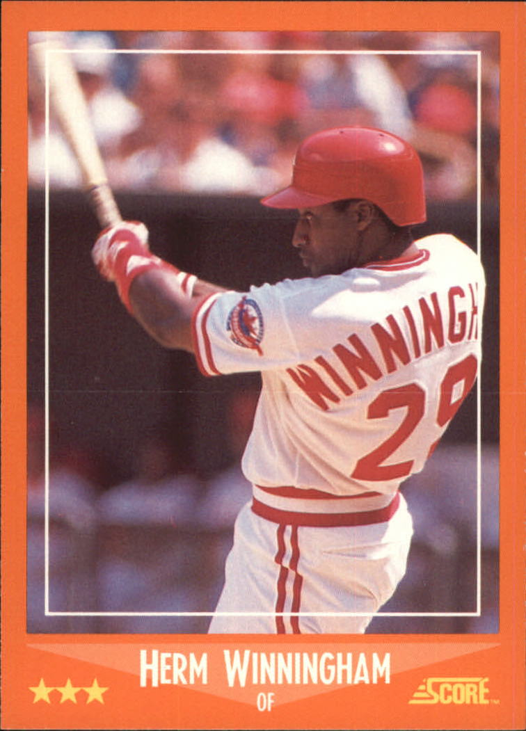 1988 Score Rookie/Traded #43T Herm Winningham