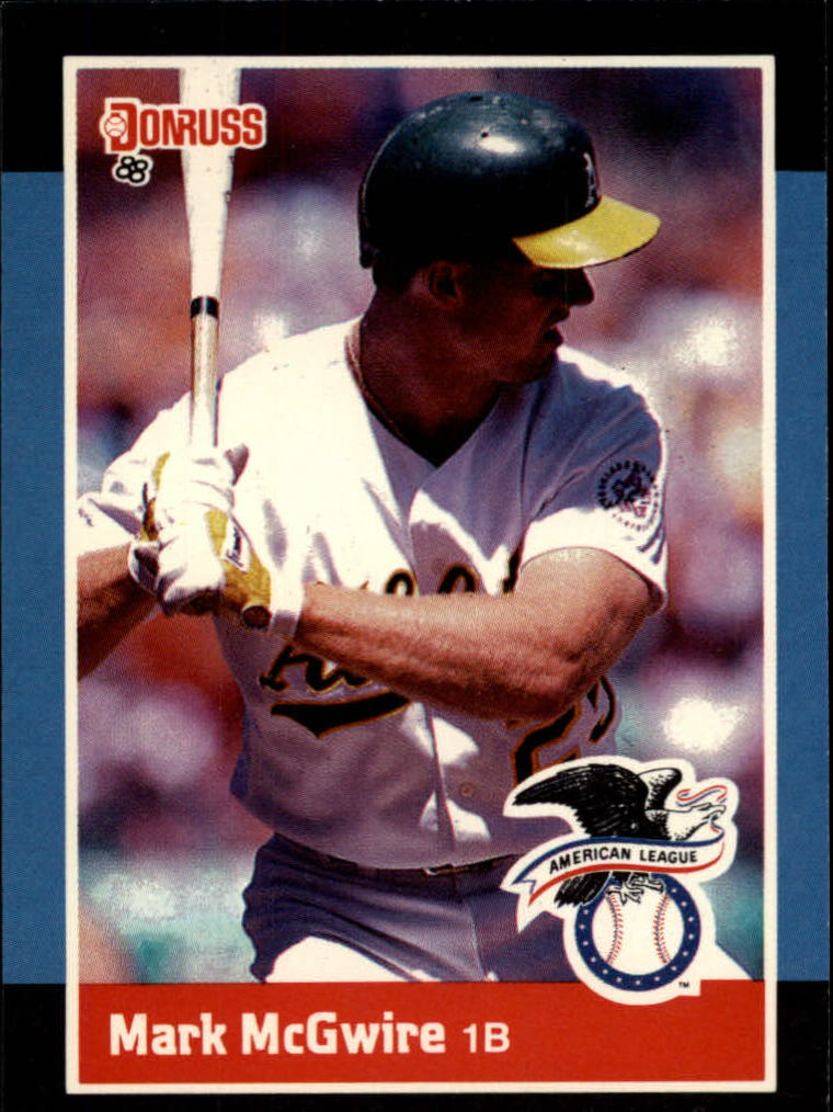 1988 Donruss All-Stars #19 Mark McGwire