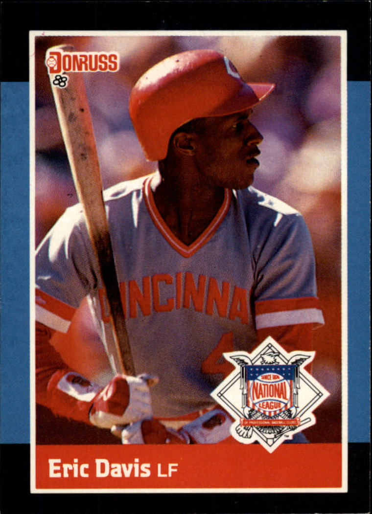 1988 Donruss All-Stars #38 Eric Davis