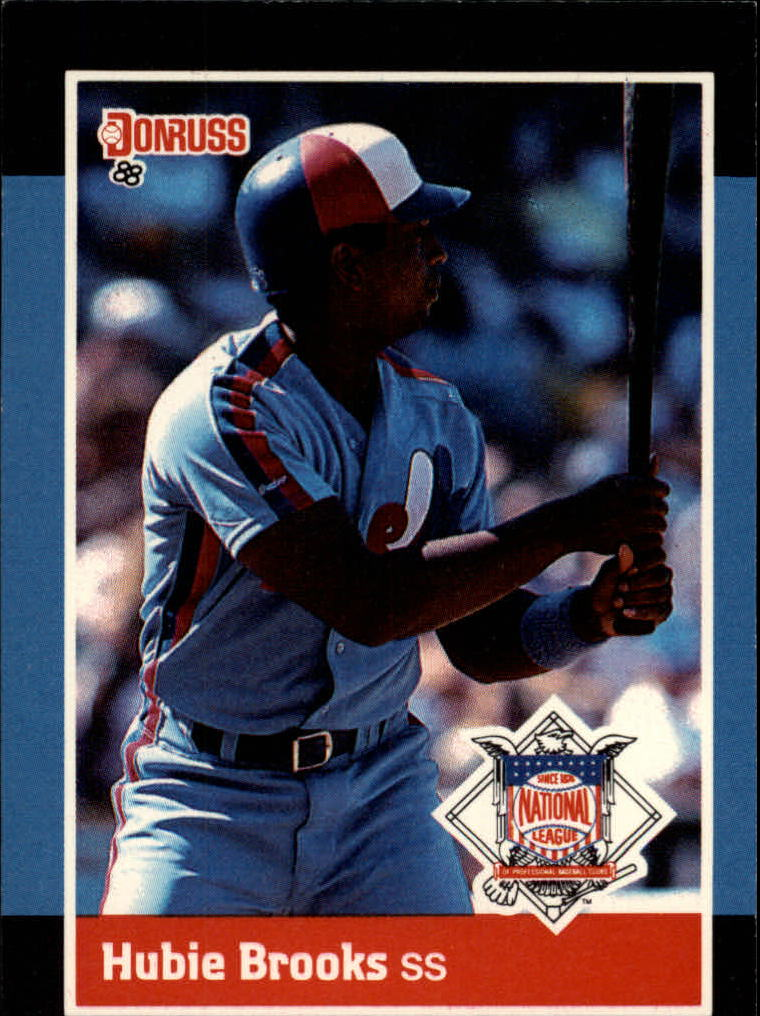 1988 Donruss All-Stars #45 Hubie Brooks