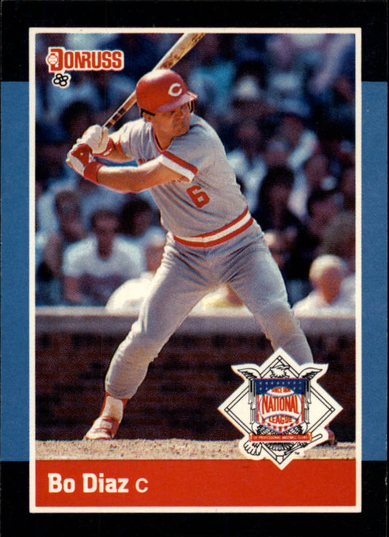 1988 Donruss All-Stars #47 Bo Diaz