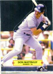 1988 Donruss Pop-Ups #1 Don Mattingly
