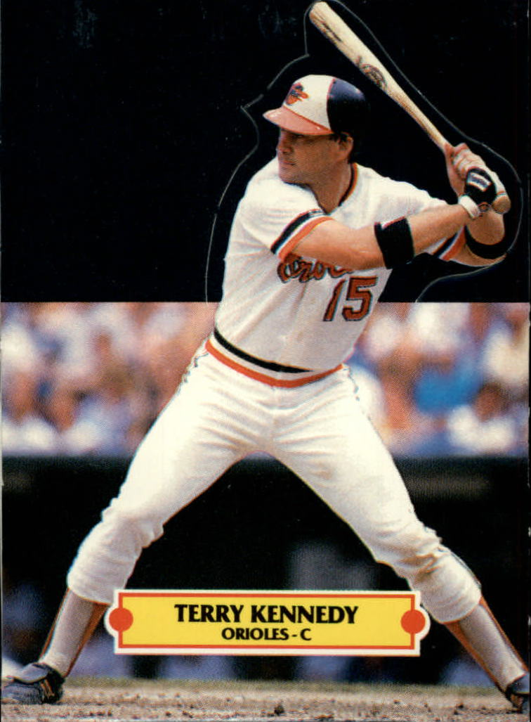 1988 Donruss Pop-Ups #9 Terry Kennedy