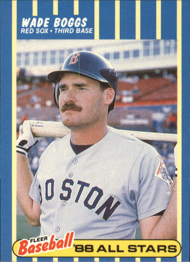 1988 Fleer Baseball All-Stars #2 Wade Boggs