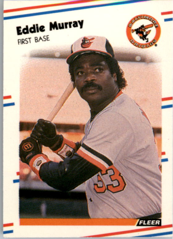 1988 Fleer Mini #1 Eddie Murray