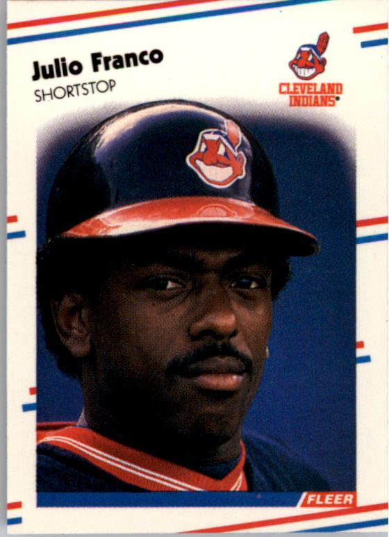 1988 Fleer Mini #19 Julio Franco