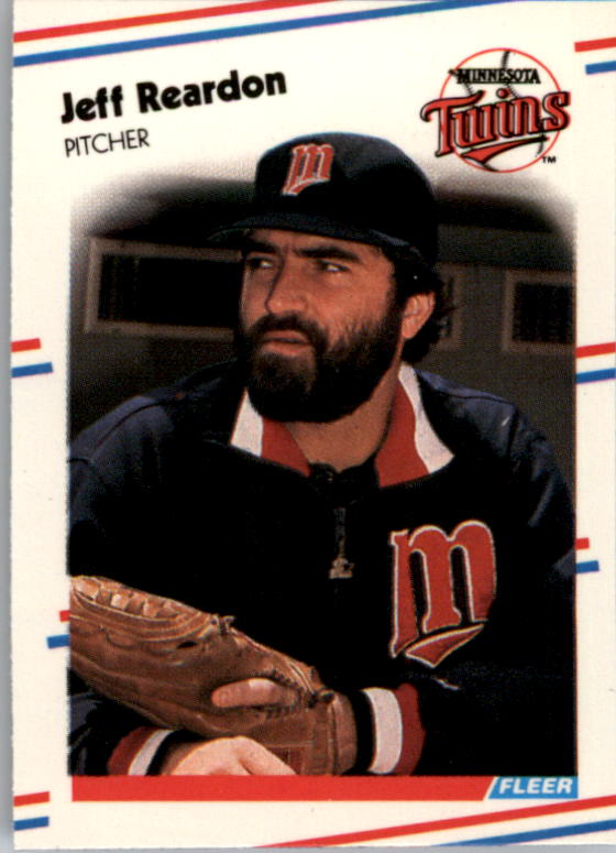 1988 Fleer Mini #37 Jeff Reardon