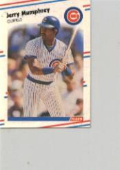 1988 Fleer Mini #69 Jerry Mumphrey