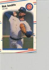 1988 Fleer Mini #71 Rick Sutcliffe