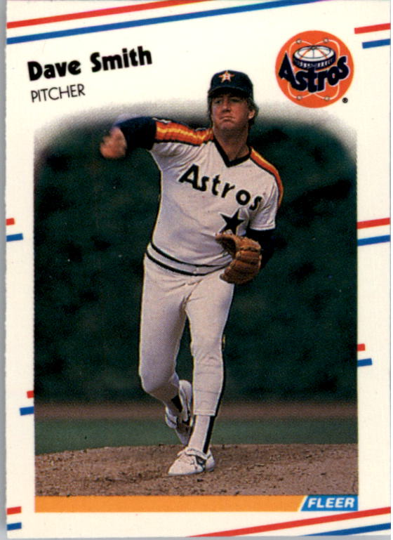 1988 Fleer Mini #81 Dave Smith