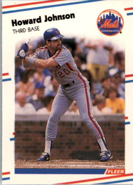 1988 Fleer Mini #95 Howard Johnson