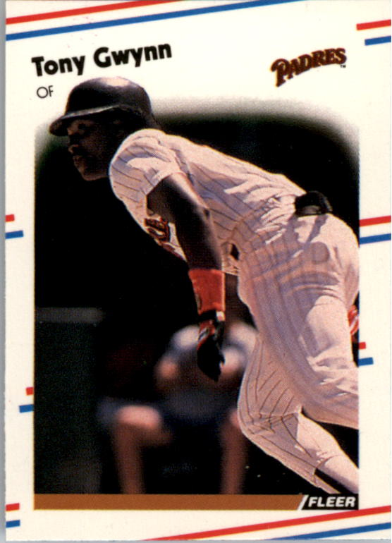 1988 Fleer Mini #112 Tony Gwynn