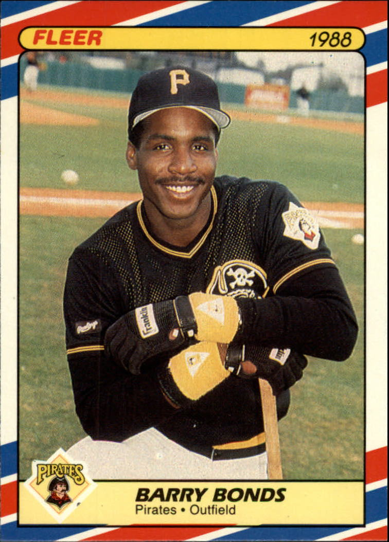 1988 Fleer Superstars #4 Barry Bonds