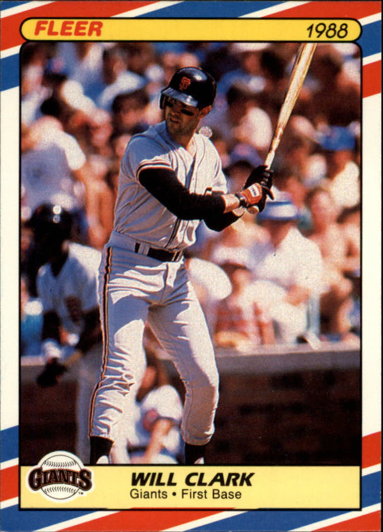 1988 Fleer Superstars #8 Will Clark