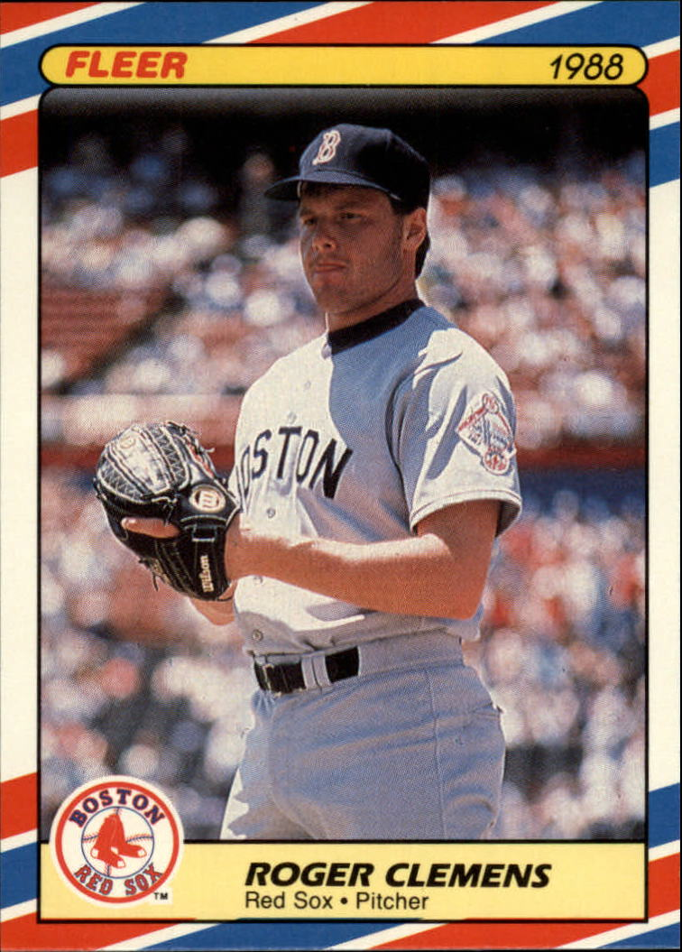 1988 Fleer Superstars #9 Roger Clemens